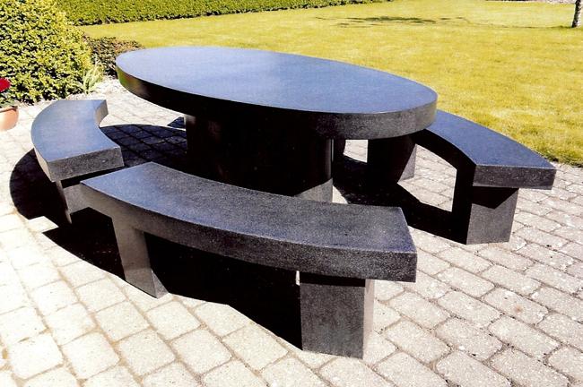 Utemöbler betong